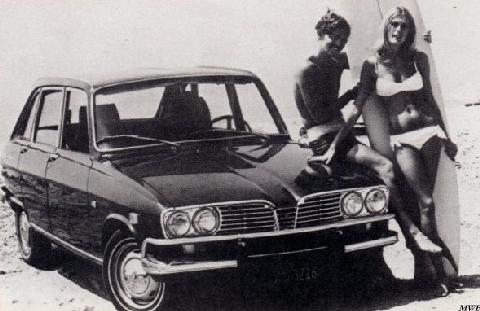 Renault 16 1965 год