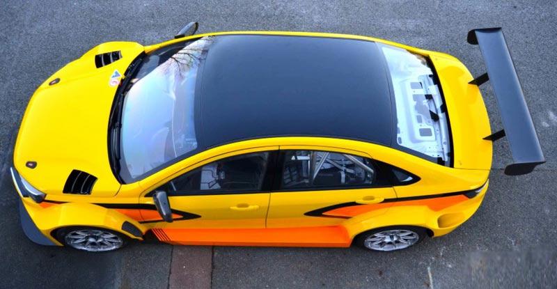 Размеры Lada Vesta WTCC