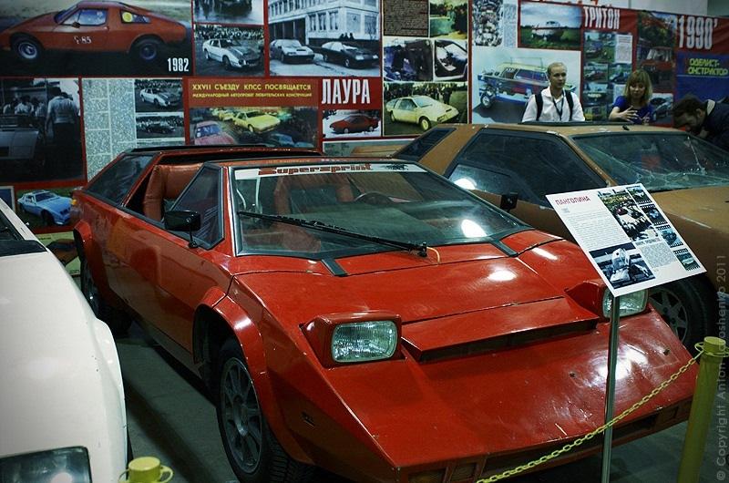 самодельный автомобиль Панголина 1983